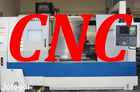 Állás! Azonnali kezdésre keresünk hosszútávú munkára CNC-gépkezelőt