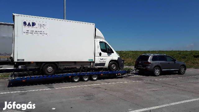 Autómentő Bérlés sofőrrel - Autómentés - Autószállítás