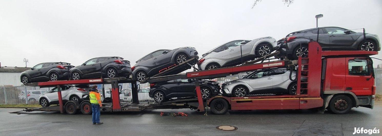 Autószállítóra keresünk Nemzetközi gépkocsivezetőt nettó 750.000/hó