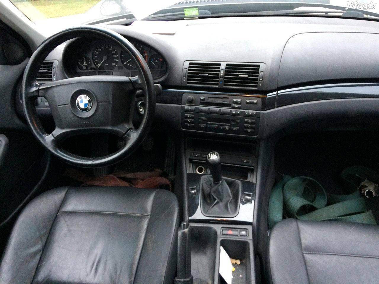 BMW 320d 2001-es alkatrészei eladók