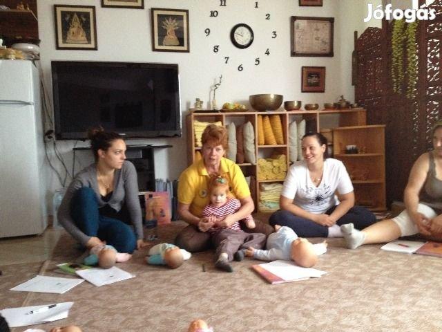 Babamasszázs és babamasszázs oktató képzés