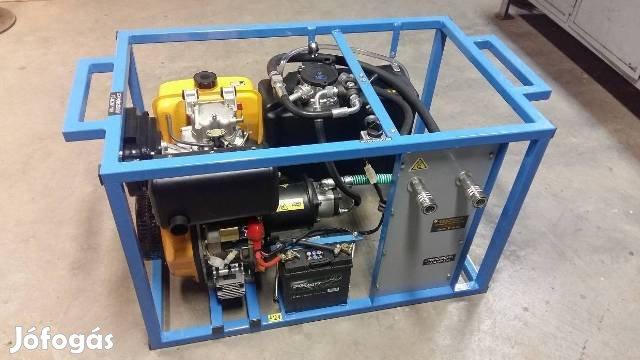 Bálacsomagoló Gép Meghajtó Hidraulikus Tápegység, 2. Kép