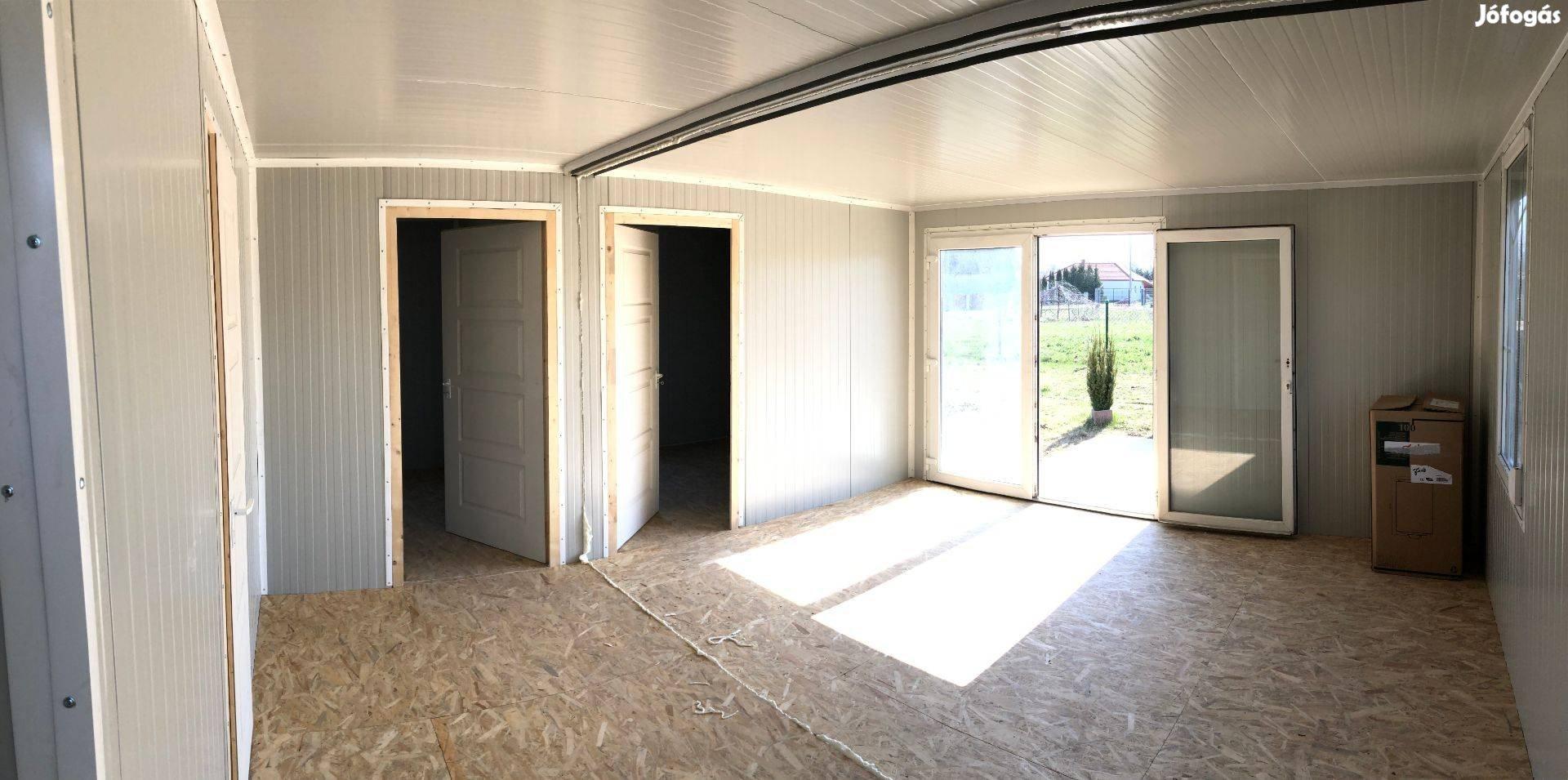 Balaton Hétvégi Ház, Szigetelt Mobilház