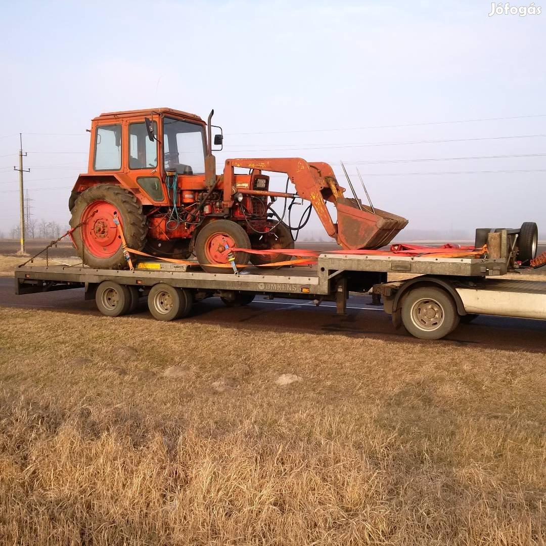 Bálázó, Permetező, Pótkocsi, Gépszállítás, Traktor, stb