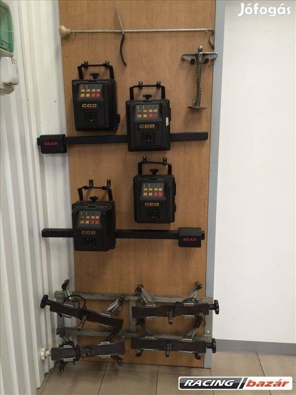 Bear CCD 2 fejes futóműállító műszer eladó