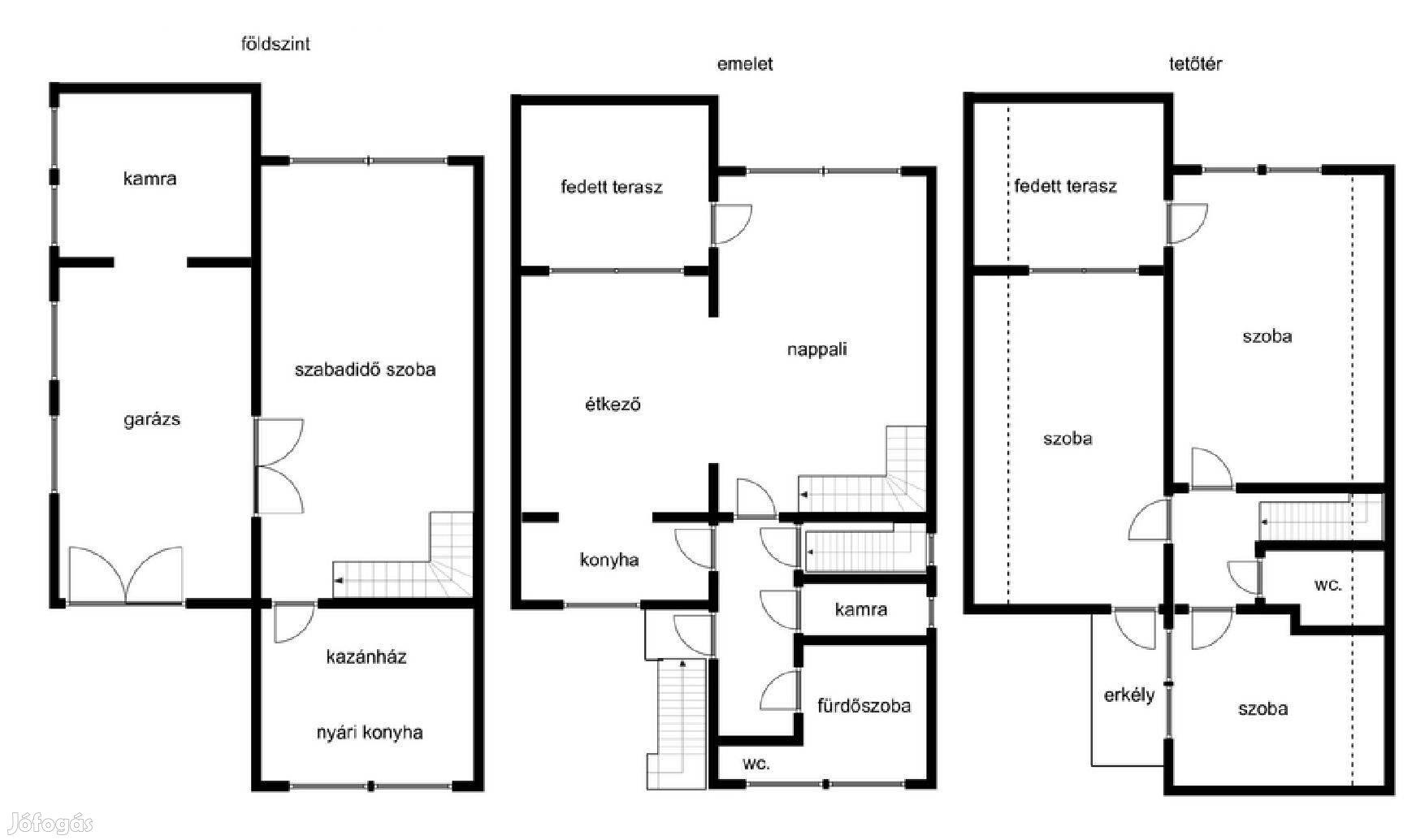 Békéscsabán, 200 m2-es családi ház az I. kerületben