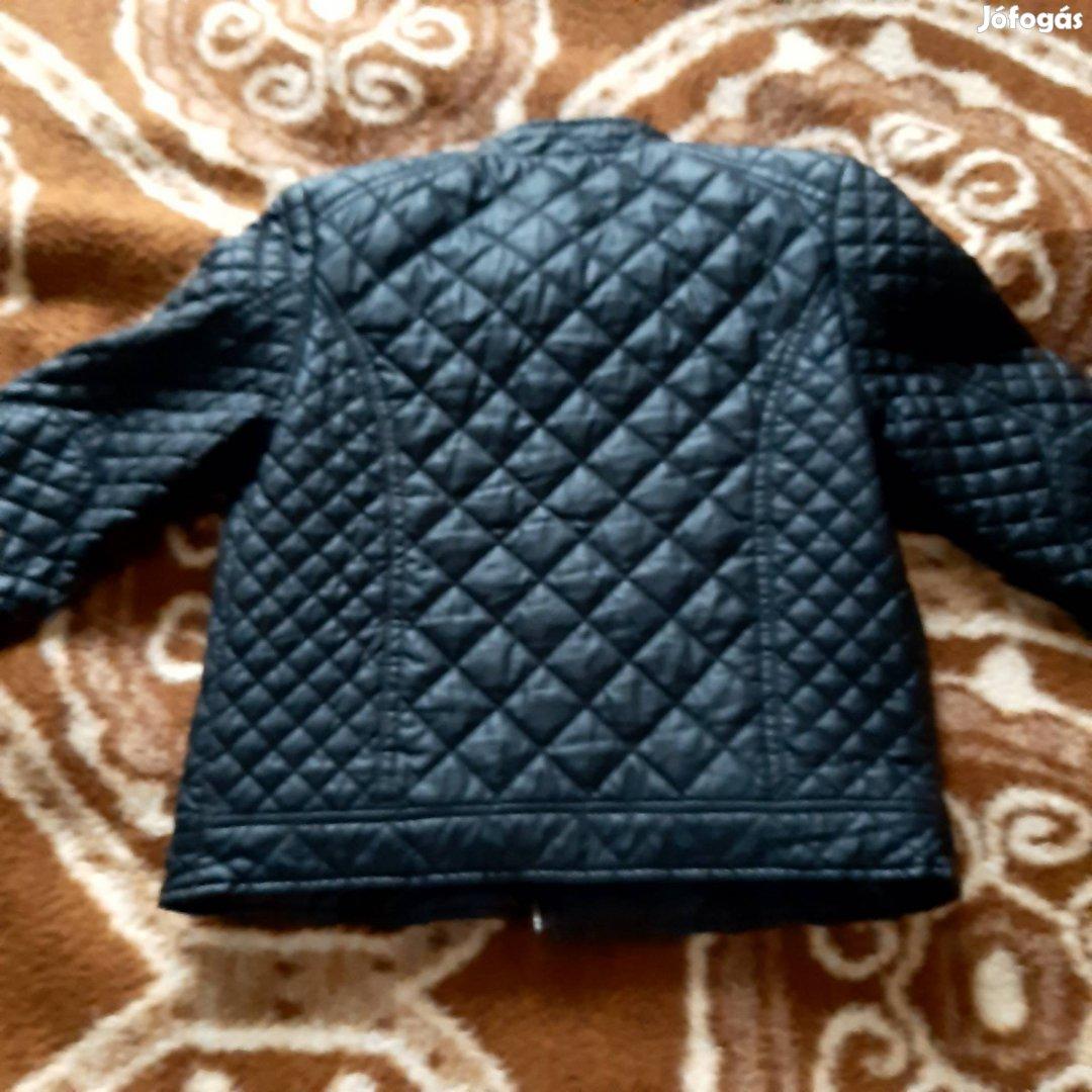 Bélelt steppelt vagány kabát Új 146 méret