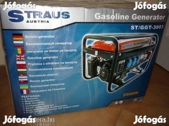 Benzines aggregátor áramfejlesztő 8500W Új 220V 12V 380V Akció