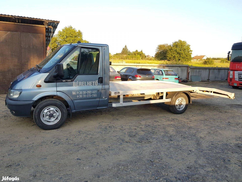 Bérelhető autószállító, autómentő, trailer, kisteherautó, bérlés