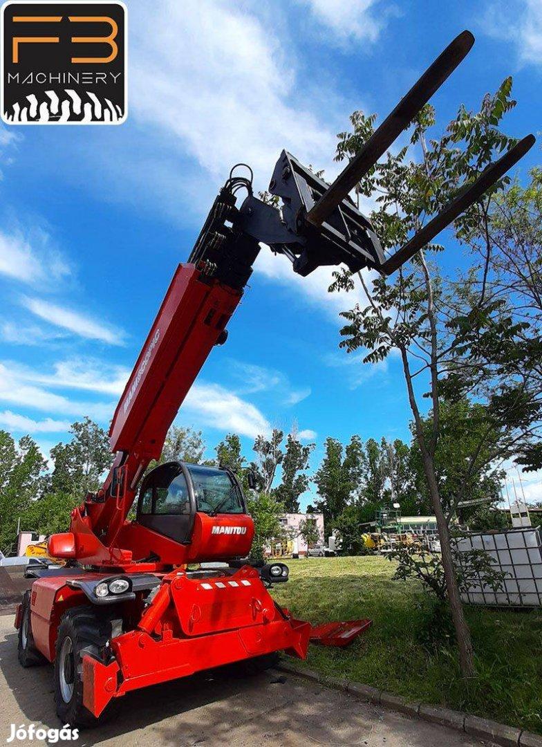 Bérelhető/eladó 20.6 m teleszkópgémes rakodó Manitou MRT 21.50