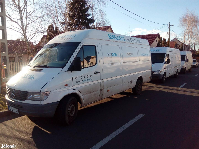 Bérelhető kisteherautó kölcsönzés teher autóbérlés kisbusz Debrecen