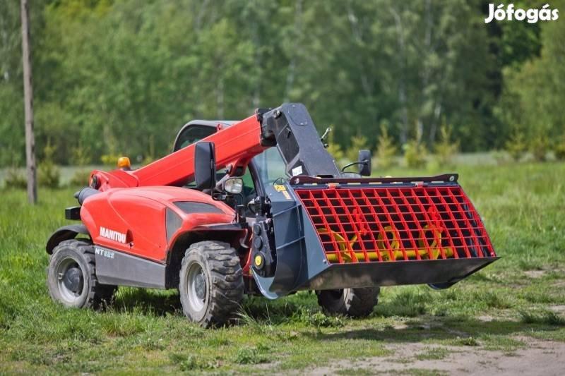 Betonkeverő kanál 180cm. Jcb Cat Komatsu Terex New holland Volvo Case
