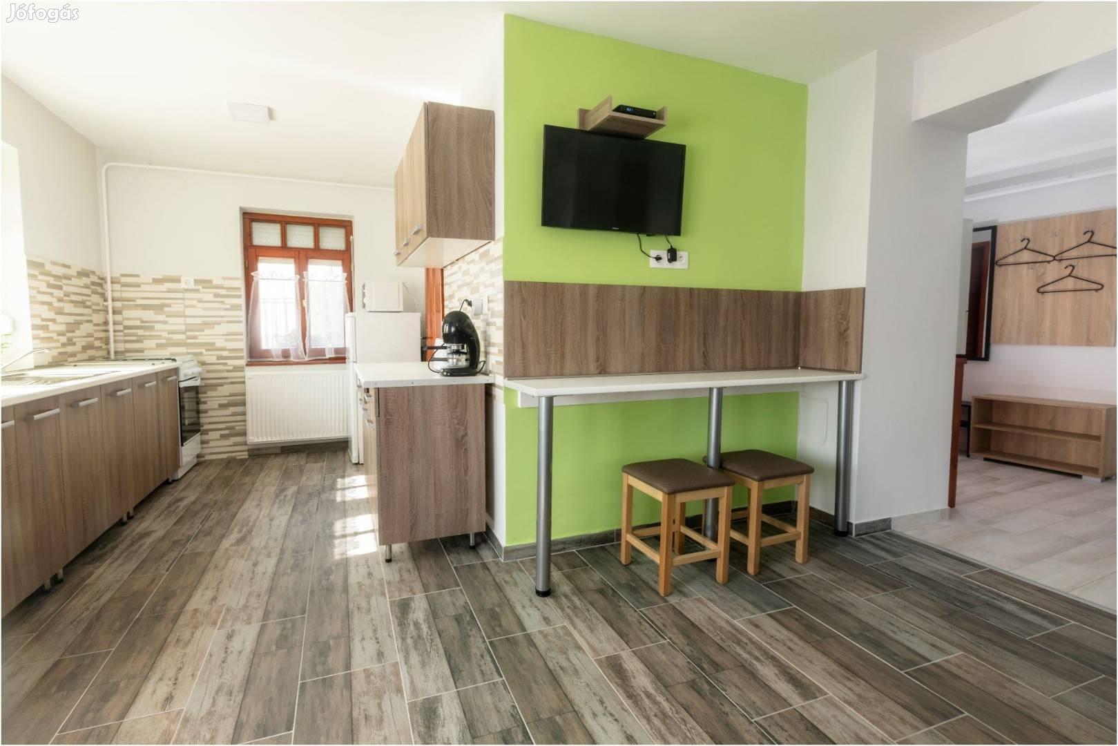 Bogács szállás 20 Fős 5 hálószobás Jakuzzis Infraszaunás apartmanház