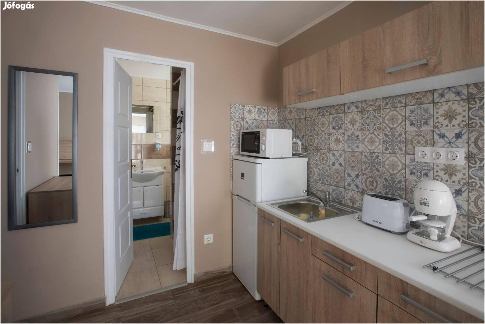 Bogács szállás 21 fős apartmanház, 5 különálló apartmannal