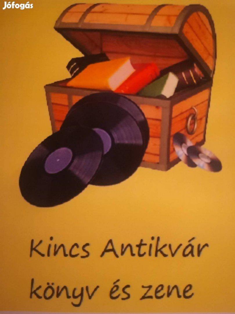CD, bakelit, könyv gyűjtemény és hagyaték felvásárlás.