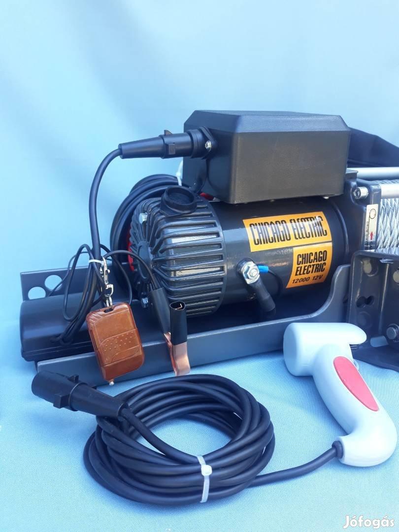 Chicago Electric 5.5 Tonnás Gyors Profi Dupla Sebességes Csörlő