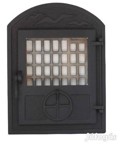 Cserépkályha / Kandalló ajtó / Kályha ajtó (huzatszabályozós) - Új