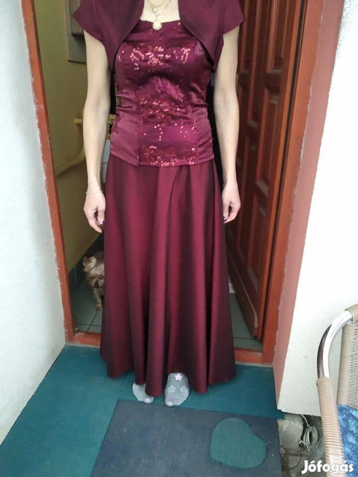 48884a6a26 Csodaszép alkalmi ruha !!!!!! Olcsón eladó ! S méret Boleróval ...