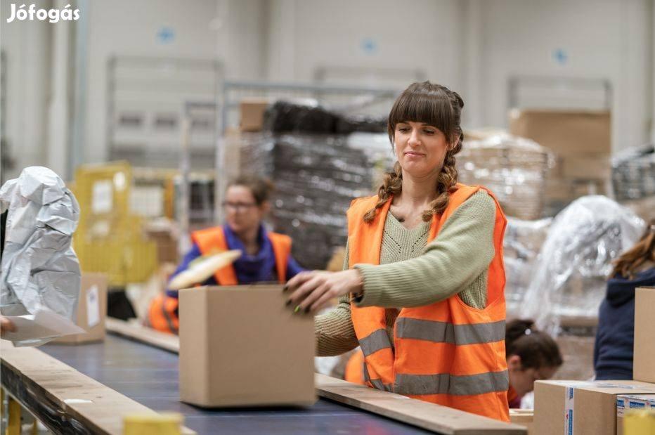 Csomagolás, dobozolás, gyári munkák heti fizetéssel!