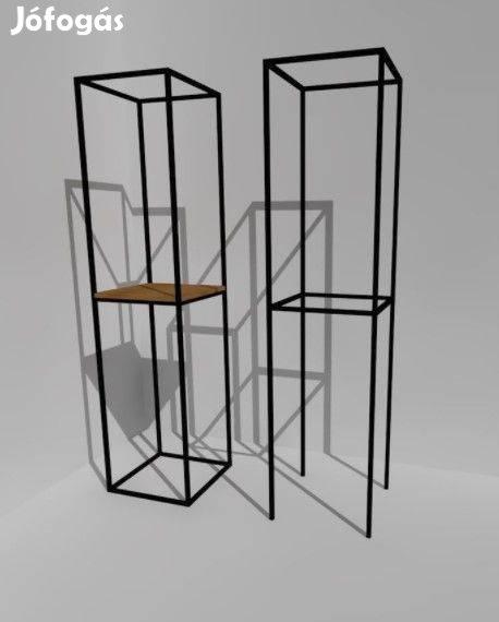 Cubus 5.0 Minimal Art acél térhasábok polcrendszer