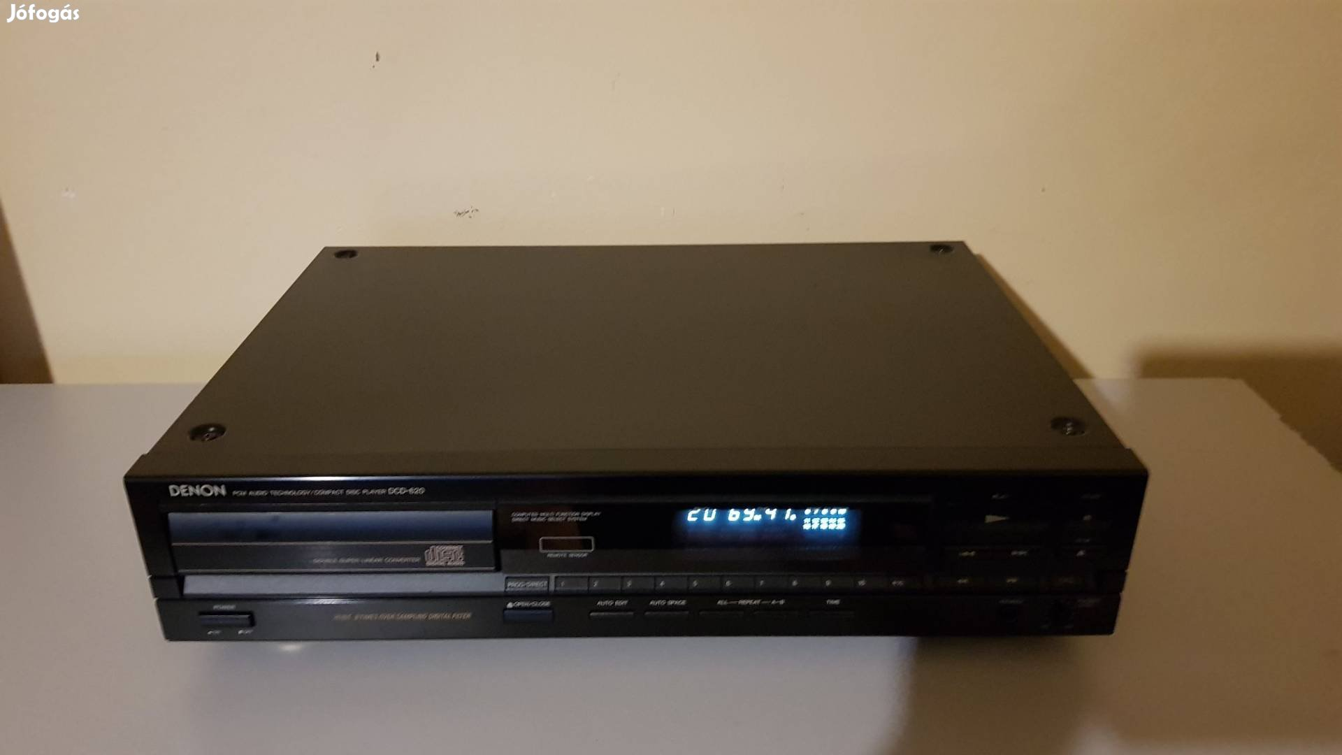 Denon DCD-620 CD lejátszó jó működő állapotban