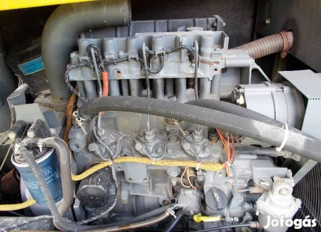 Deutz F3M 1011F motor csavarkompresszor Estrich boy