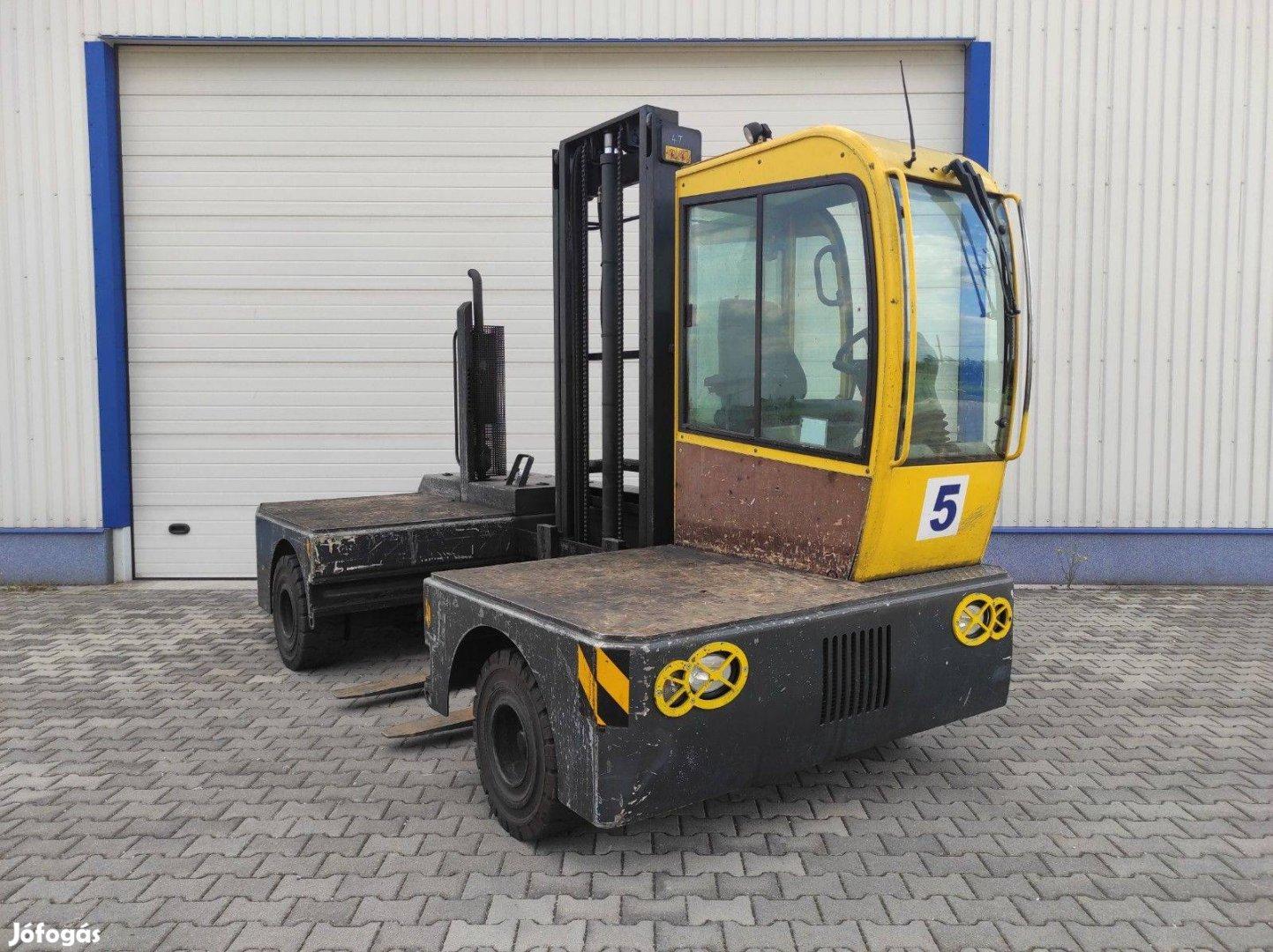 Dízel üzemű oldalvillás targonca Lancer Lqn 40/12/45 4 t teherbírás