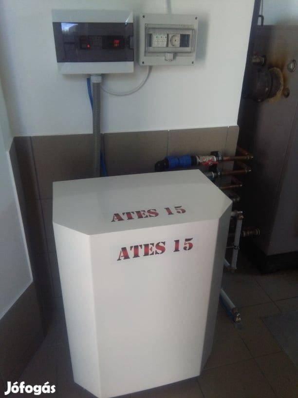 Drága tűzifa fűtés helyett a hatékony ATES hőszivattyú