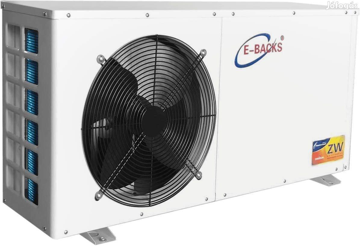 E-Backs ASH12 12 kW levegő - víz hőszivattyú, hűt fűt melegvíz