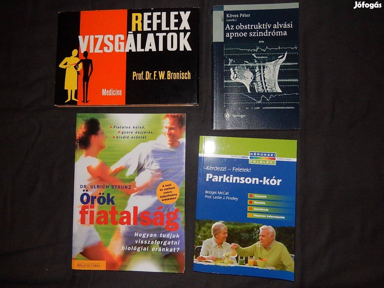 Egészségügyi, orvosi könyvek, tankönyvek eladók