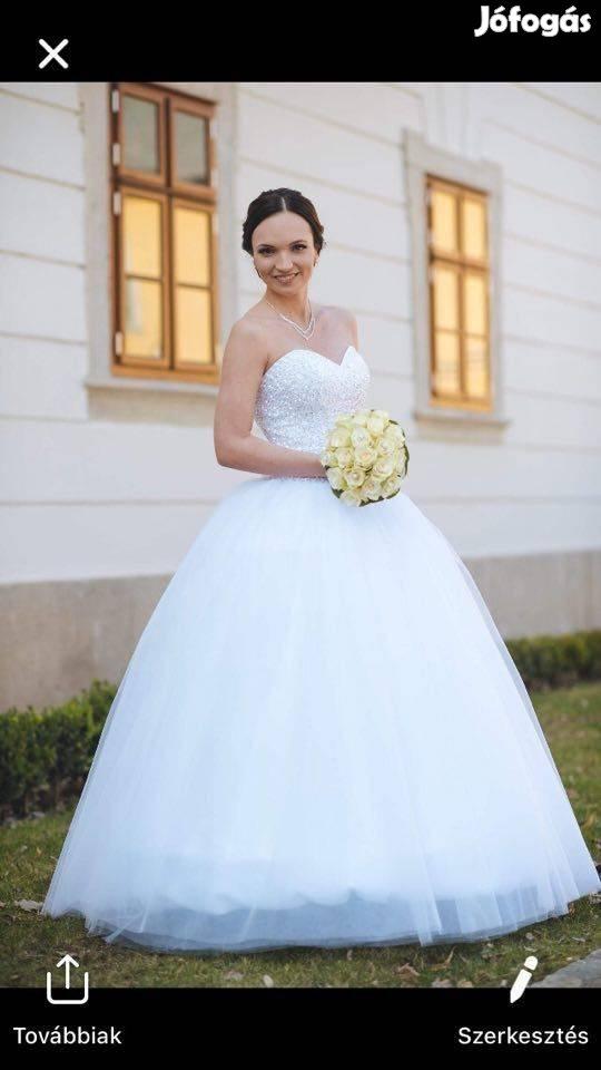 Eladásra És Kiadásra Szánt Több Új Menyasszonyi Szalagavatós Ruha, 7. Kép