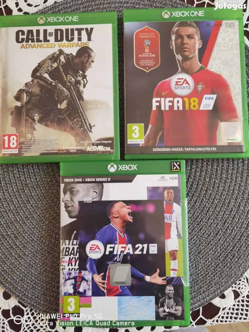 Eladó Xbox one játékok, Fifa 21 stb.
