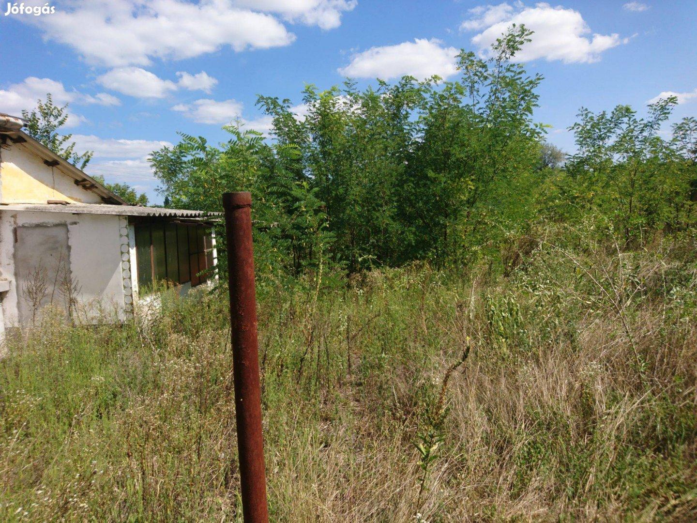 Eladó: Szántó-gazdasági épülettel