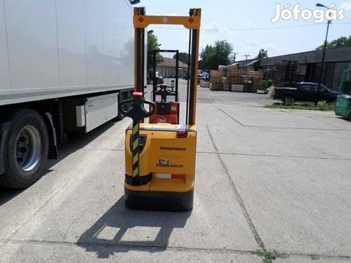 Eladó egy Jungheinrich Ejc 14 G típusú elektromos gyalogkíséretű