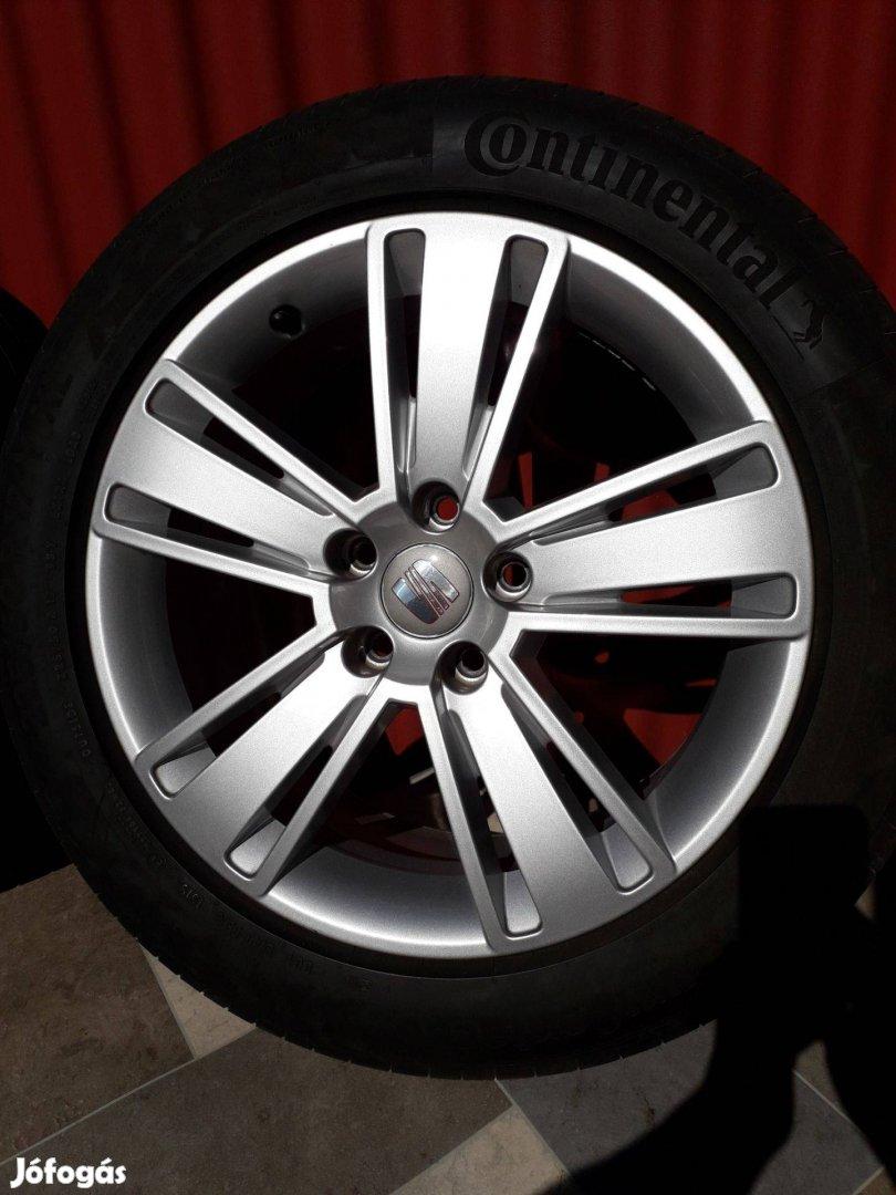 Eladó eredeti Seat Alhambra r17 VW Sharan alufelni 7mm nyárigumikkal