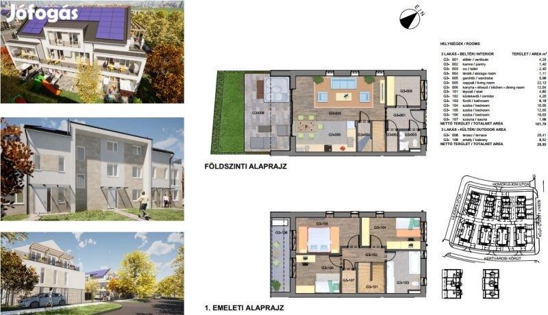 Eladó lakás, Budapest XXIII., 103 m2