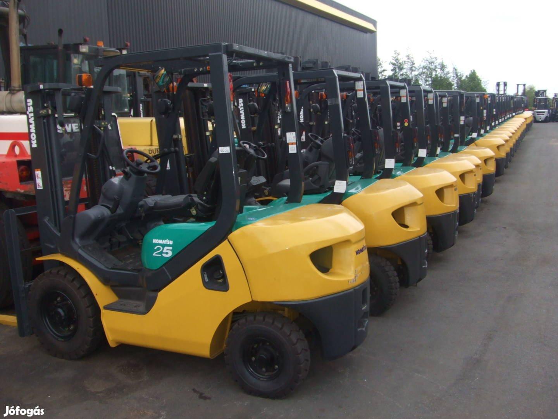 Eladó új és használt targoncák, személyemelők, építőipari gépek!