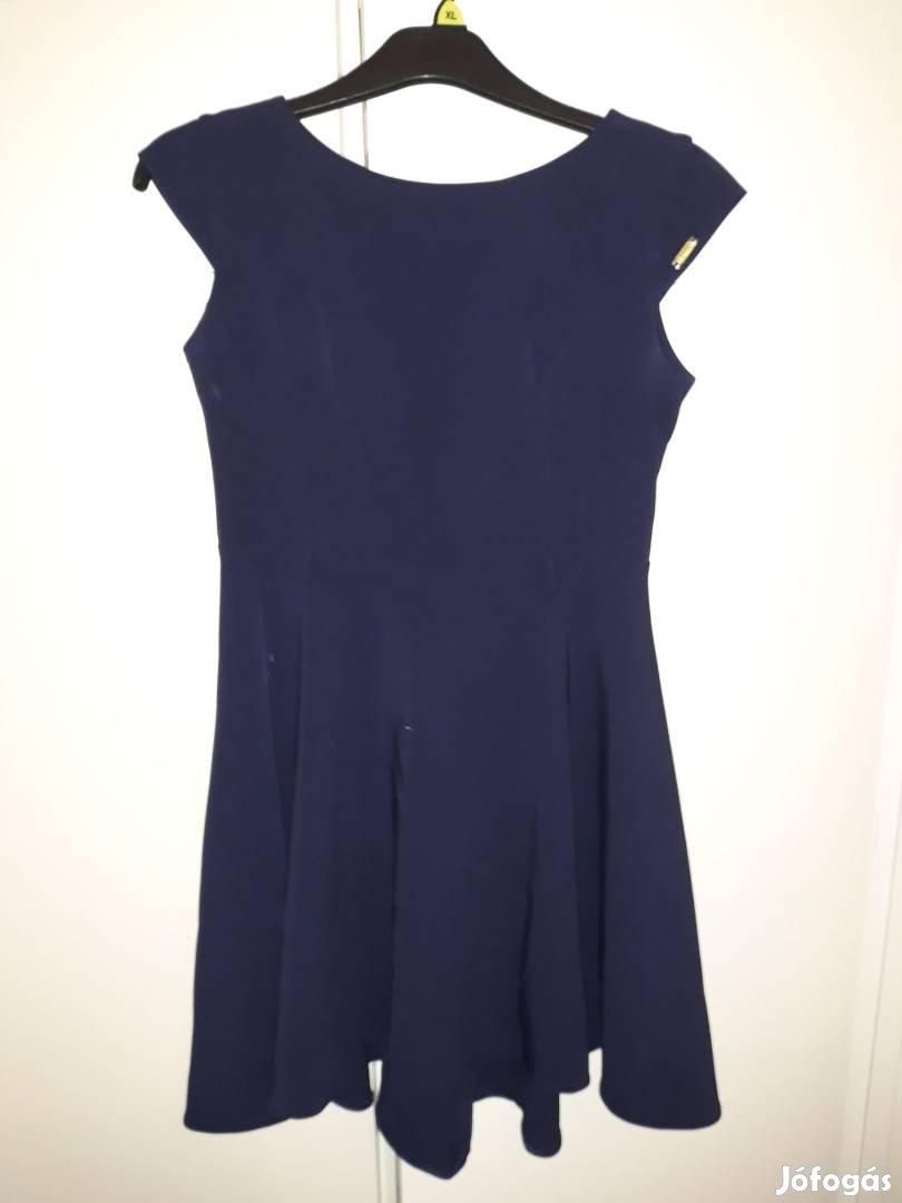 Elegáns kék 38-as alkalmi ruha, 1. Kép