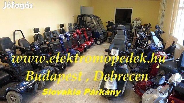 Elektromos Moped Rokkantkocsi Adás vétel Szerviz Aksik Gumik Garancia, 3. Kép
