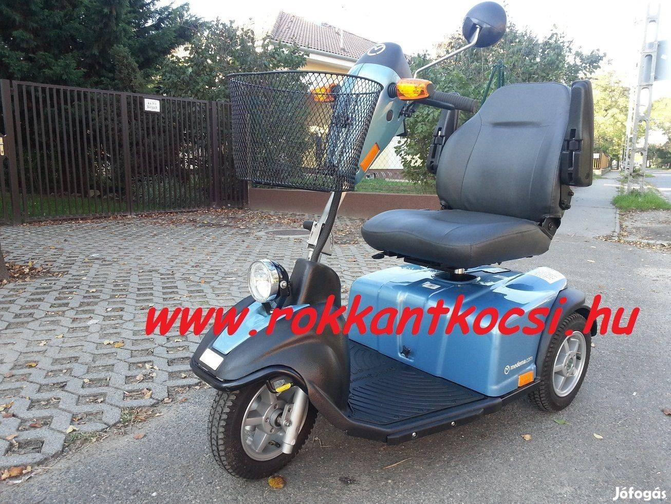Elektromos Moped Rokkantkocsi Adás vétel Szerviz Aksik Gumik Garancia, 8. Kép