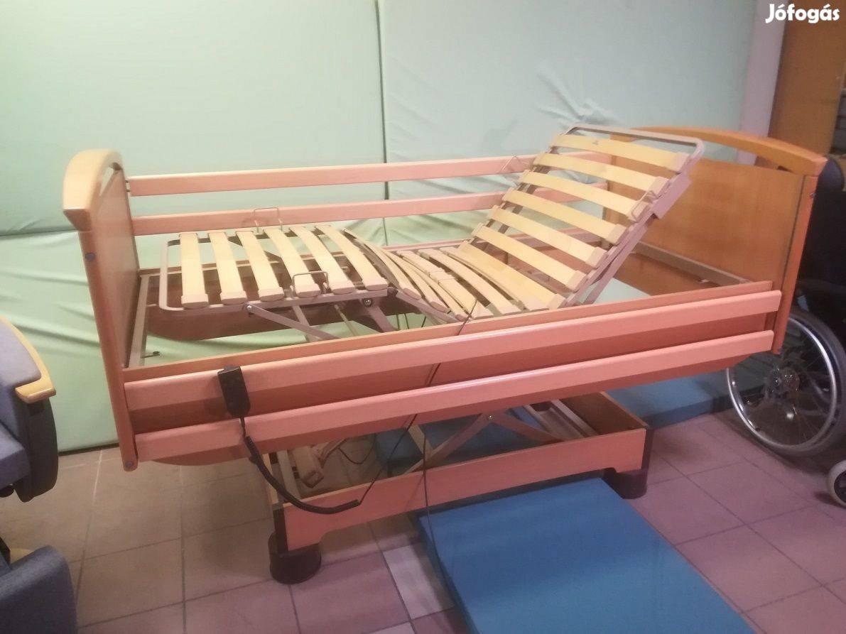 Elektromos betegágy 200kg teherbírás! Beteg kórházi ágy Gyógyágy