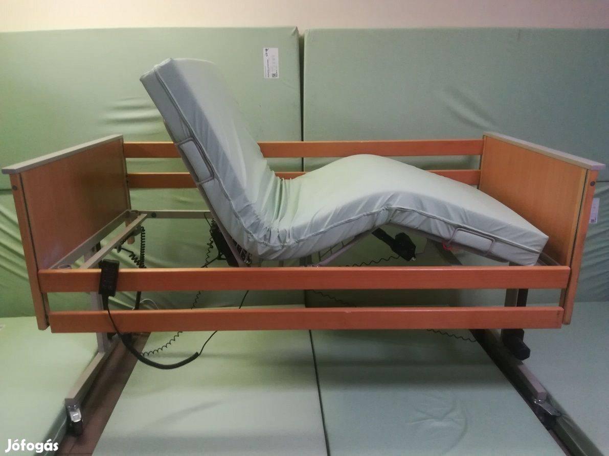 Elektromos betegágy 3funkciós szétszedhető ápolási kórházi beteg ágy