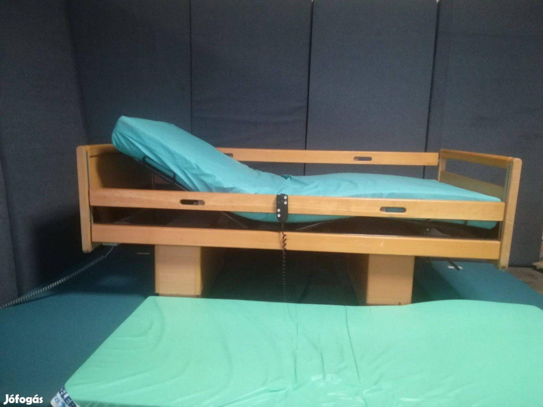Elektromos betegágy otthonápolási ágy