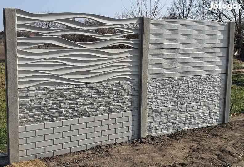 Elemes betonkerítés gyártói akció