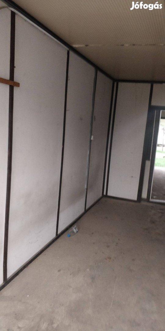 Építhető Lakókonténer, mobillakás, irodakonténer, nyaraló, tanyára