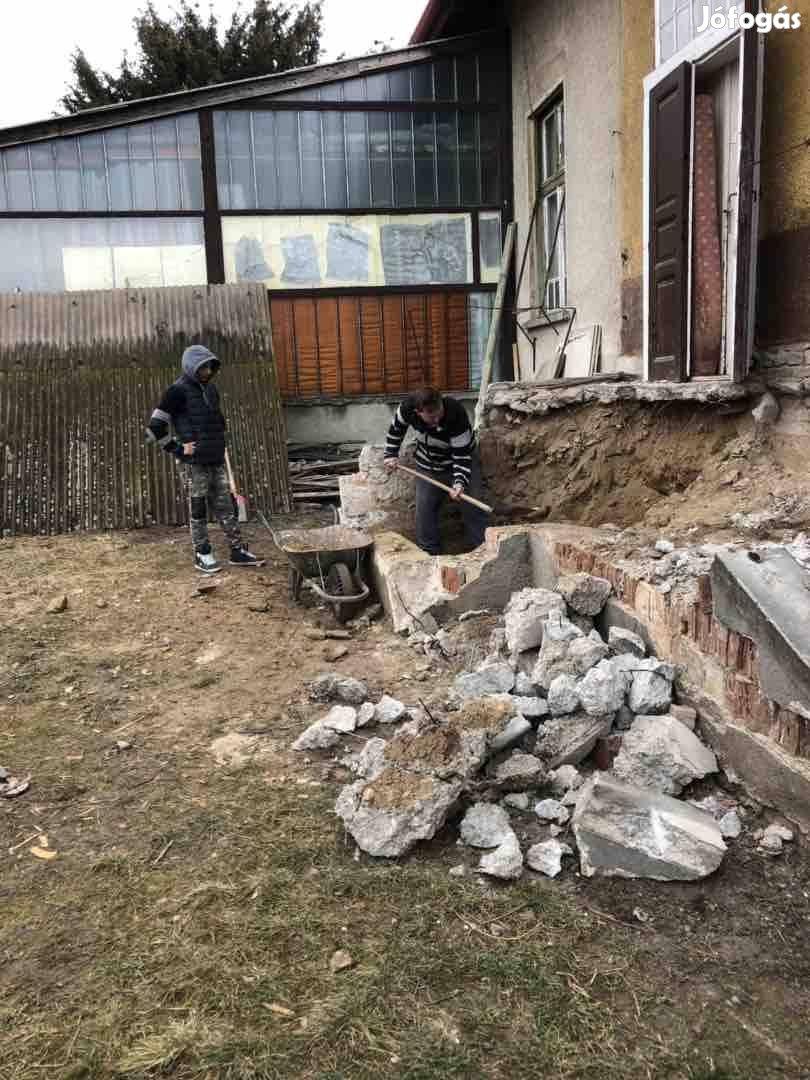 Épület bontás és belső bontások
