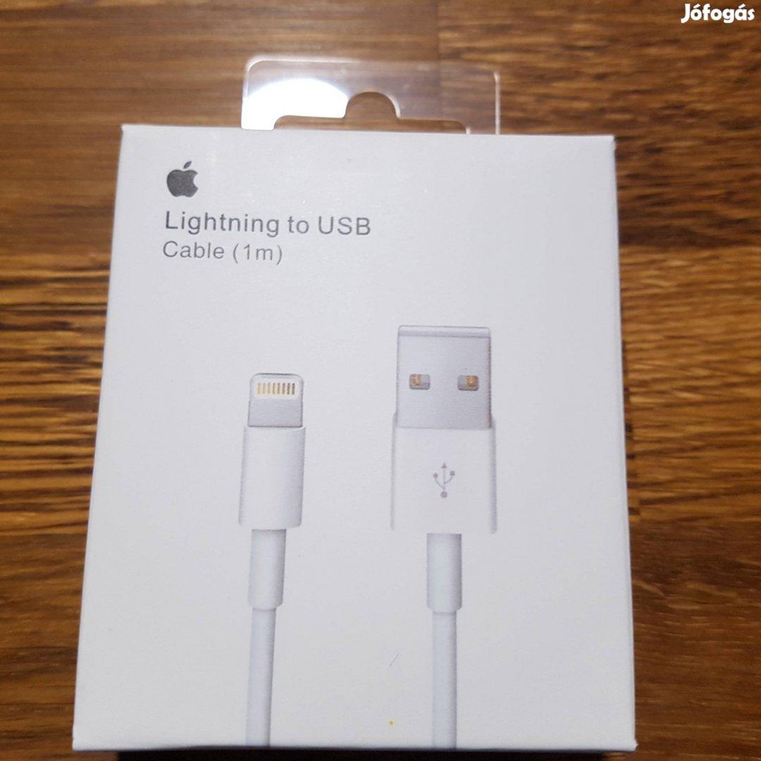 Eredeti Bontatlan Apple Iphone töltőkábel lightning töltő kábel