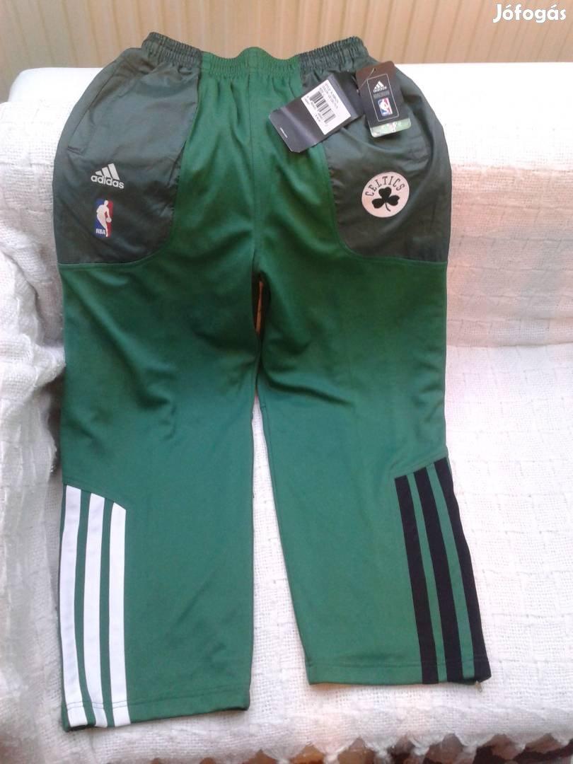 Eredeti új Adidas Boston Celtics gyerek L-es melegítő nadrág eladó