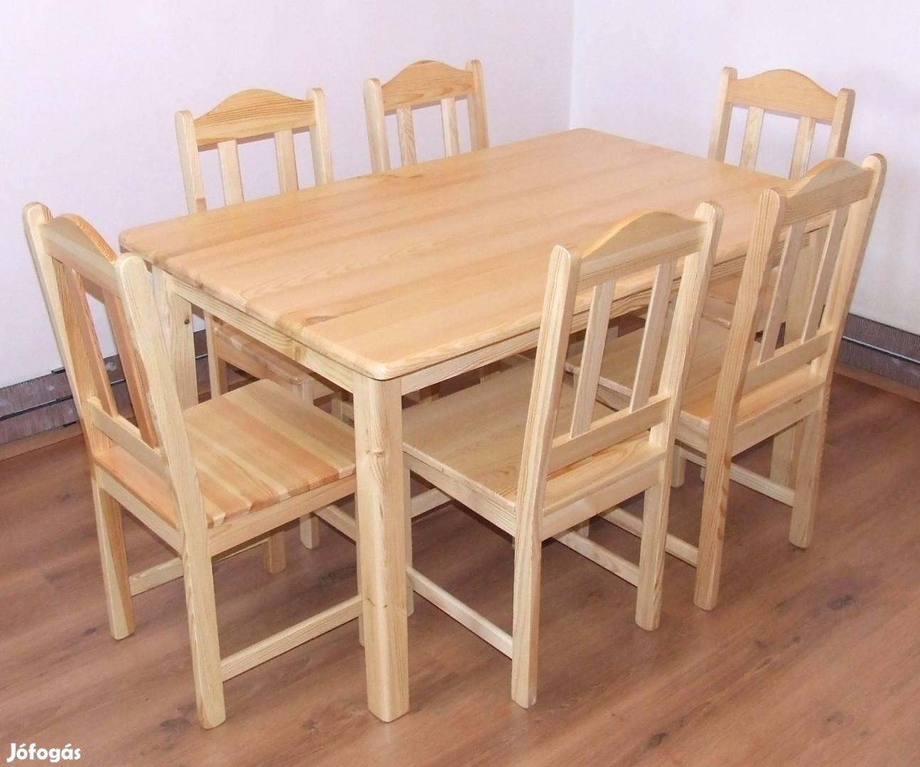 Étkező garnitúra, Fenyő étkező, Étkezőasztal, Étkező, borovi fenyő