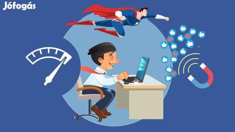 Facebook-weboldal szövegírás, hirdetésfeladás (rugalmas munkaidő)